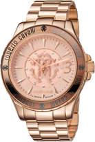 Roberto Cavalli RV1L001M0036 Rose Gold-Tone Watch