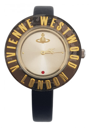 Vivienne Westwood Black Steel Watches