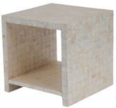 Jeffan Uptown Cube Side Table with Shelf