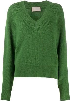Drumohr V-Neck Knitted Jumper