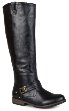 Journee Collection Kai Wide Calf Riding Boot