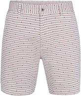 Oxford Henry Jacquard Shorts Snd/Wht X