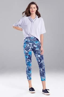 Natori N-Power Petals Printed Pants