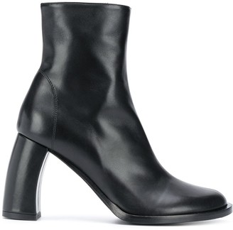 Ann Demeulemeester Mid-Heel Ankle Boots