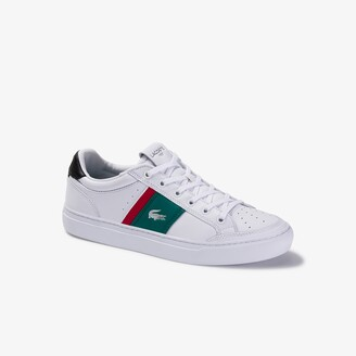 Lacoste Men's Courtline Perforated Leather Sneakers