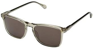 Raen Wiley 54 (Haze/Plum Brown) Fashion Sunglasses