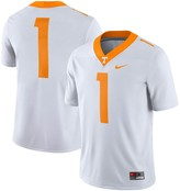 Nike Men's #1 White Tennessee Volunteers Game Jersey