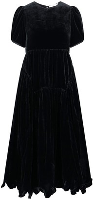 Cecilie Bahnsen Myrleen Paneled A-Line Dress