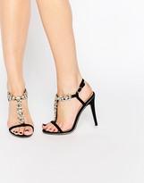Ravel Embellished Heeled Sandals