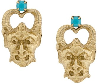 Iosselliani Puro Satyr earrings