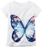 Carter's Baby Girl Watercolor Butterfly Tee