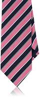 Barneys New York MEN'S REPP STRIPE SILK NECKTIE