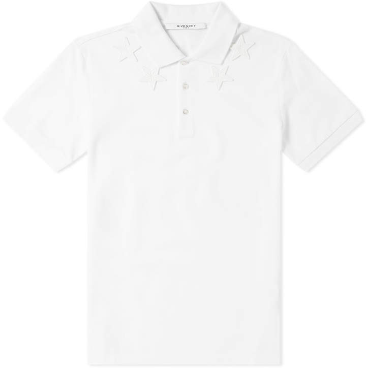 Givenchy Star Embroidered Polo