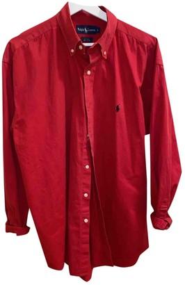 Ralph Lauren Red Denim - Jeans Leather jackets