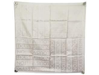 Louis Vuitton Beige Silk Silk handkerchief