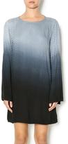 Mono B Ombre Bell Sleeve Dress