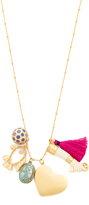 Tory Burch Charm Pendant Necklace