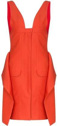 Jacquemus La Robe draped mini dress