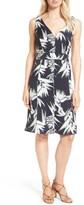 Women's Classiques Entier Paradise Print Stretch Silk Dress