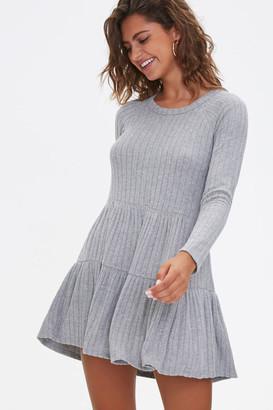 Forever 21 Ribbed Knit Mini Dress