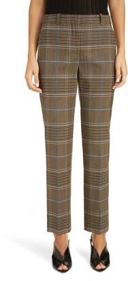 Givenchy Check Wool Pants
