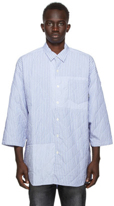 Neighborhood Blue Quilt-S C Shirt
