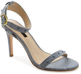 Kensie Lexy Embossed- Leather Sandals