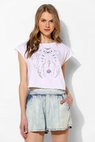 Truly Madly Deeply Butterfly Vine Cap-Sleeve Tee