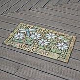 Doormats Yiting Continental rubber anti-skid tenants door mat 45*75cm,45*75 I