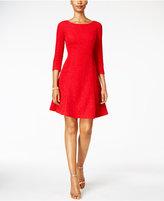 Jessica Howard Glitter A-line Dress