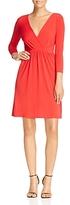 T Tahari Trish Deep V-Neck Dress