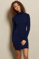 Garage Bodycon Turtleneck Dress