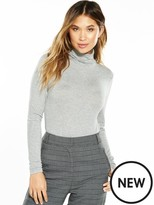 Very Roll Neck Long Sleeve Top