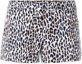 MICHAEL Michael Kors Thora animal print shorts - women - Cotton/Spandex/Elastane - 6