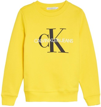 Calvin Klein Jeans Boys Monogram Logo Sweat