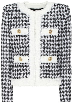 Balmain Sequinned tweed jacket