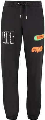 Heron Preston Printed Cotton Track-pants