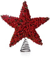 Bloomingdale's Faux Berry Star Tree Topper