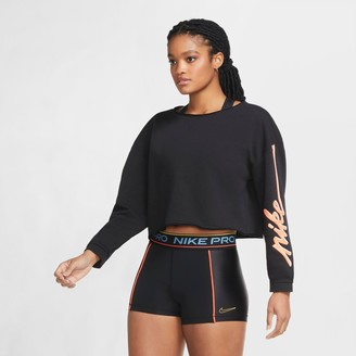 Nike Women's Femme Fleece Crop Crewneck Sweatshirt