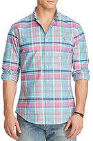 Polo Ralph Lauren Big & Tall Plaid Stretch Oxford Long-Sleeve Woven Shirt