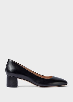 Hobbs Abbey Leather Block Court Shoes