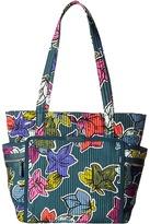 Vera Bradley Iconic Deluxe Small Vera Tote Tote Handbags