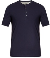 Paul Smith Short-sleeved jersey henley top