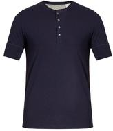Paul Smith Short-sleeved Jersey Henley Top