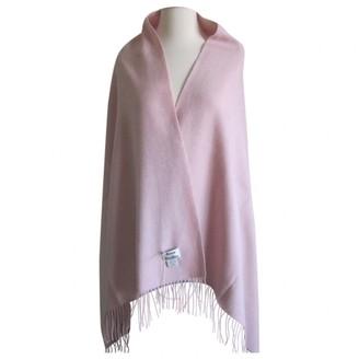 Acne Studios Pink Wool Scarves