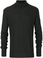 Ann Demeulemeester roll neck jumper
