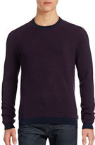 Ted Baker London Geo Jacquard Crew Neck Sweater