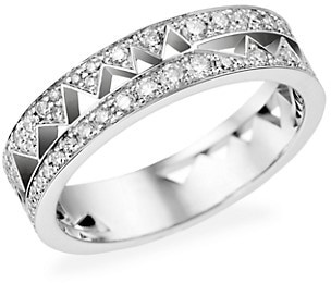 Akillis Capture Me 18K White Gold Diamond Band Ring