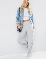Asos Slouch Wide Leg Pants with Drop Pockets