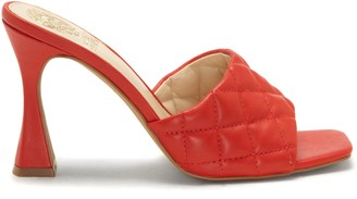 Vince Camuto Reselm Quilted-Strap Mule